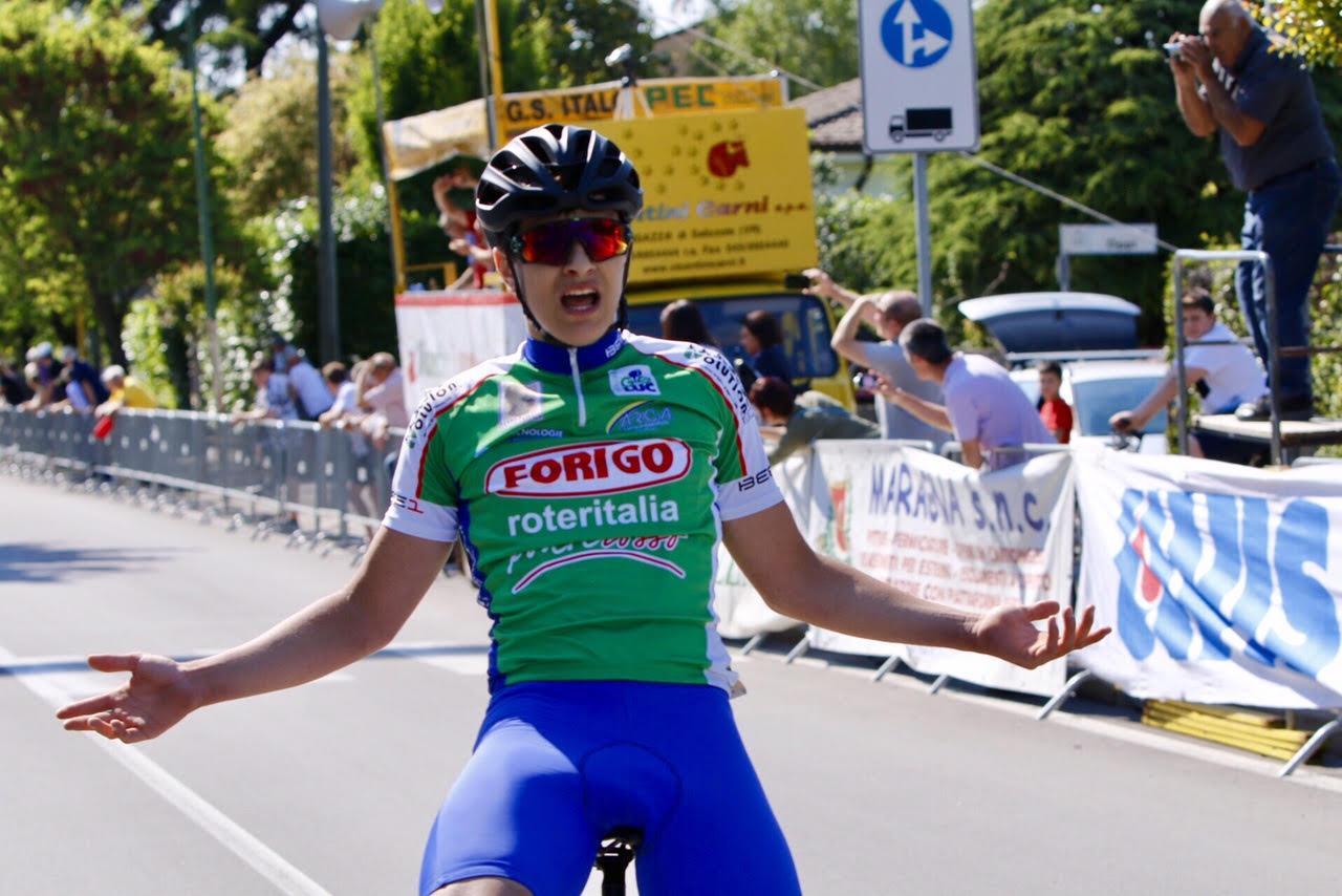 Federico Zorzan vince la gara Allievi di Beccacivetta