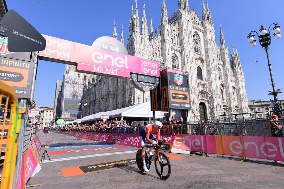 Tom Dumoulin vince a Milano il Giro 100