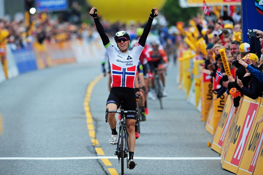 Edwal Boasson Hagen vince la prima tappa del Tour of Norway