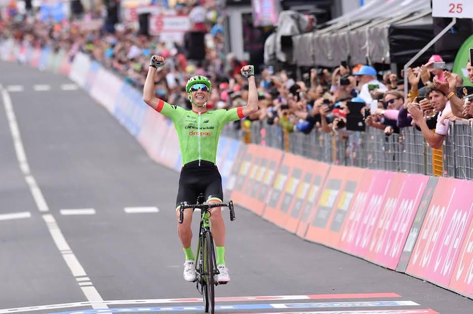 Pierre Rolland vince la tappa 17 del Giro 100