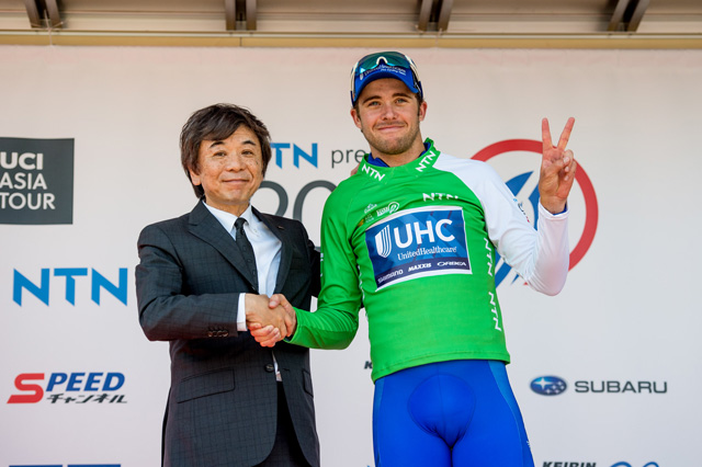Daniel Summerhill vince il prologo del Tour of Japan 2017