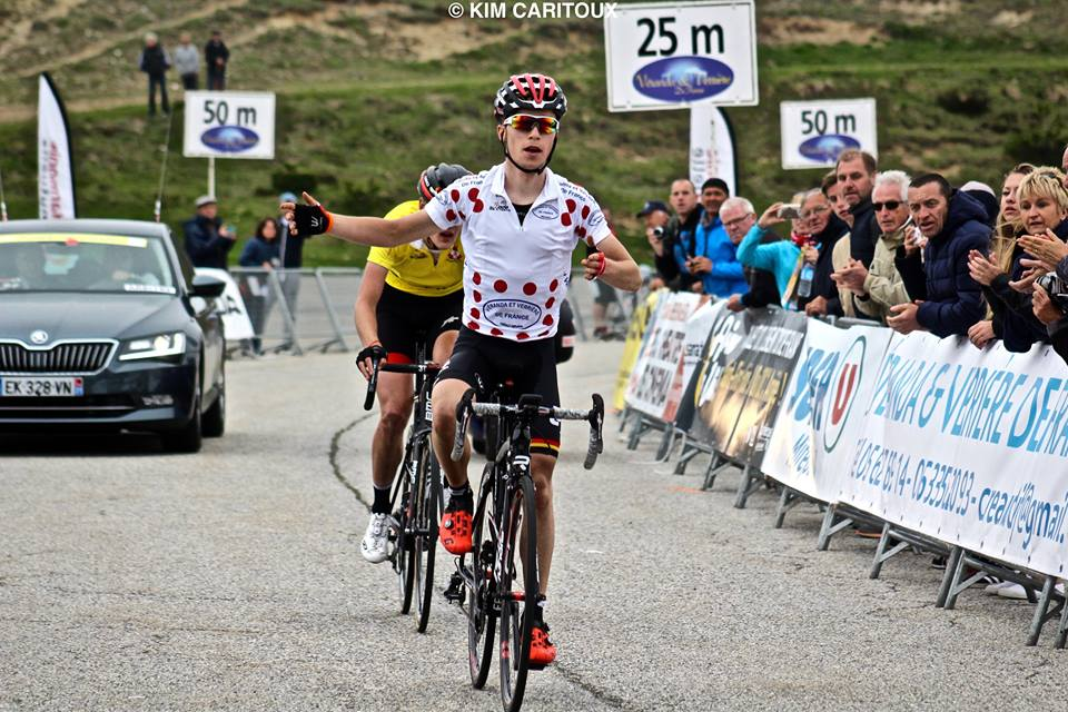 Bjorg Lambrecht supera il leader Pavel Sivakov nella terza tappa della Ronde de L'Isard