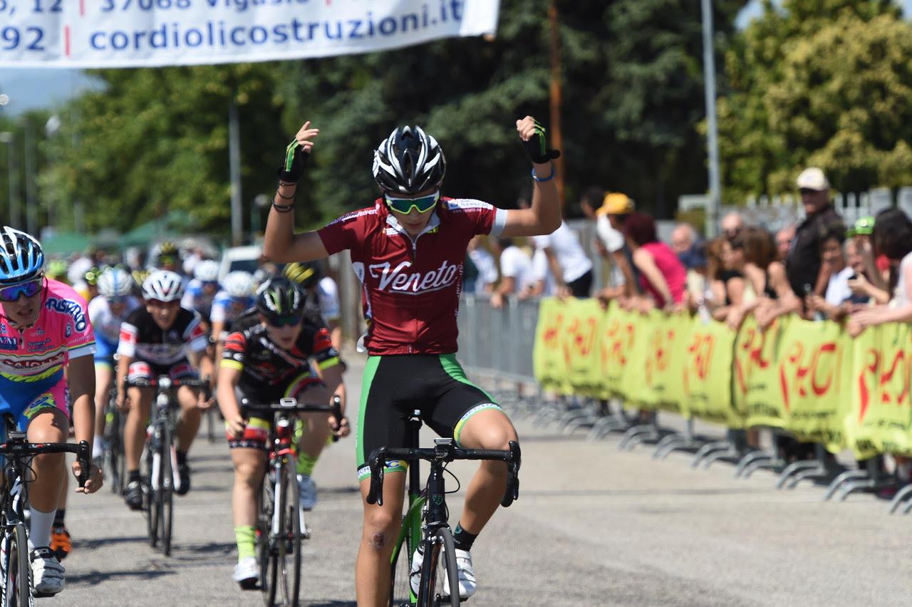 Il campione veneto Vladimir Milosevic vince la gara Esoridenti 1° anno di Castel d'Azzano