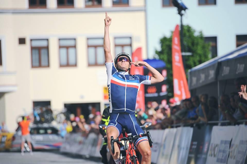 Il francese Axel Journiaux vince la prima tappa del Grand Prix Priessnitz spa - Course de la Paix U23 2017