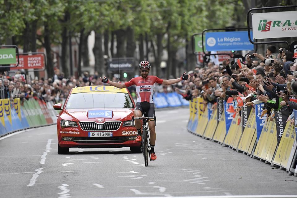 Mihkel Raim vince la prima tappa del Tour de Slovaquie 2017