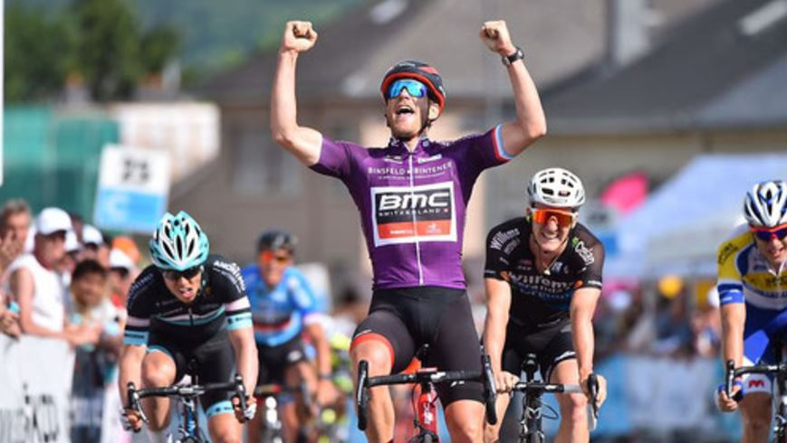 Jean-Pierre Drucker vince la prima tappa del Tour de Luxembourg