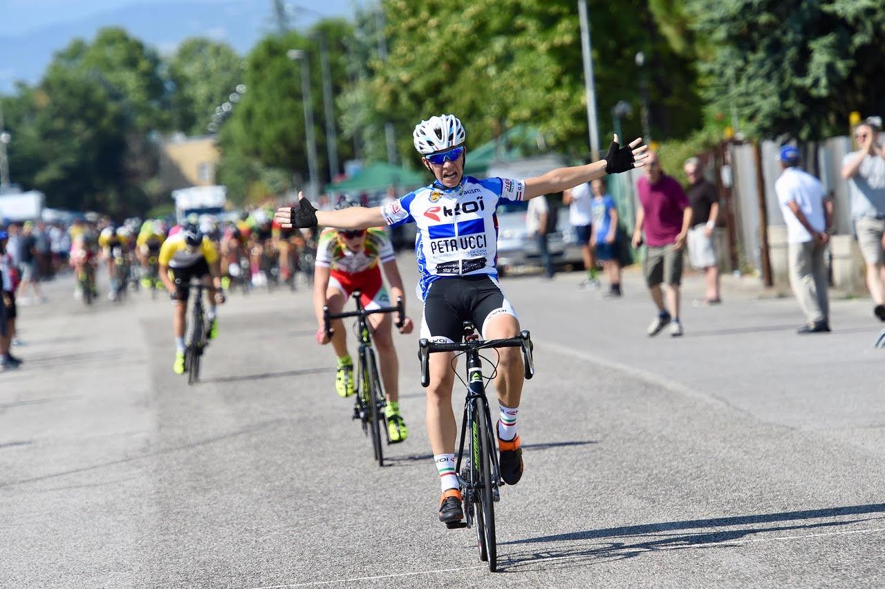 Andrea Fagnani vince la gara Esordienti 2° anno di Castel d'Azzano
