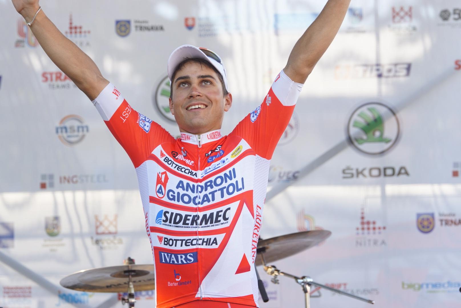Matteo Malucelli vincitore della seconda tappa del Tour de Slovaquie 2017