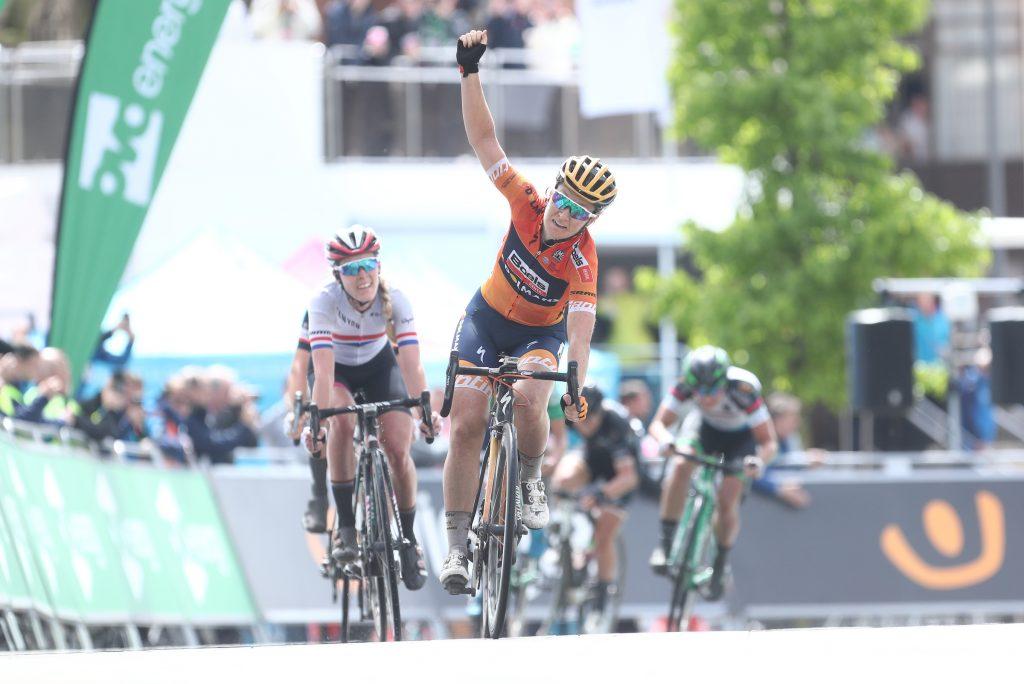 Amy Pieters vince la seconda tappa del Women's Tour 2017