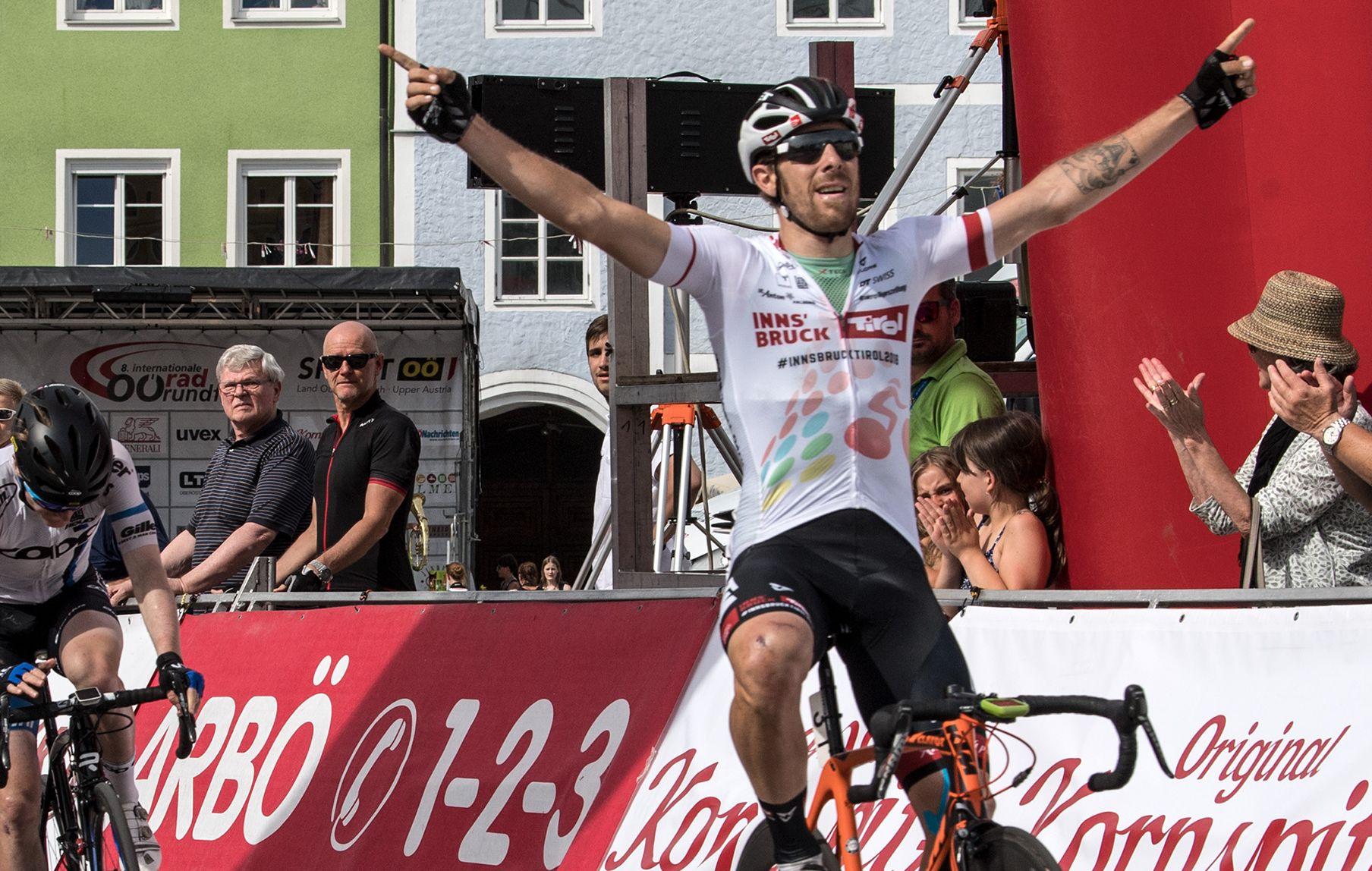 Filippo Fortin vince la seconda tapap dell'Oberösterreichrundfahrt