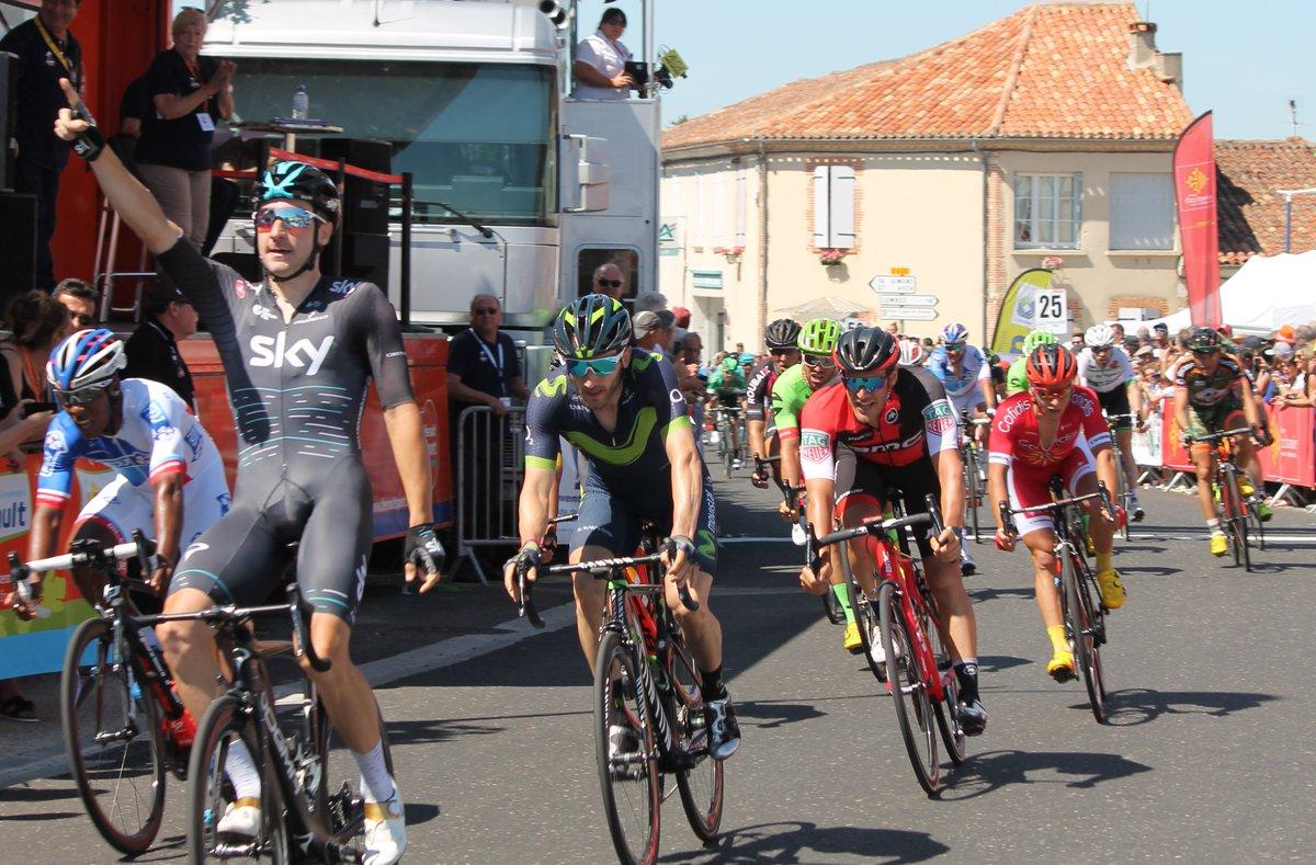Elia Viviani vince la seconda tappa della Route du Sud 2017
