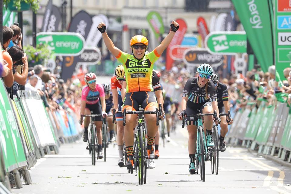 Chloe Hosking vince la terza tappa del Women's Tour 2017