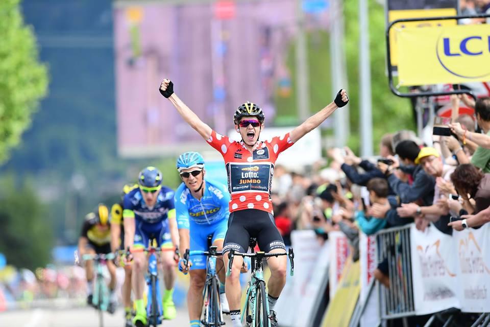 Koen Bouwman vince la terza tappa del Criterium du Dauphine