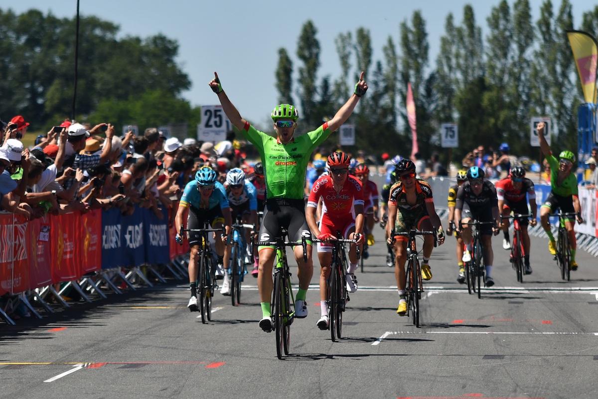 Thomas Scully vince la quarta e ultima tappa della Route du Sud 2017