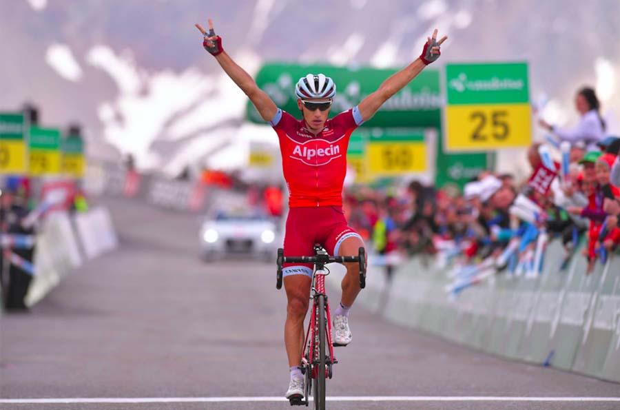 Simon Spilak vince la settima tappa del Tour de Suisse 2017