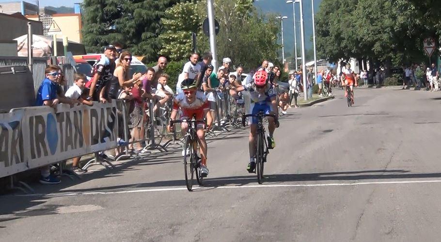 La vittoria di Andrea Toniatti al Trofeo Alcide De Gasperi 2017