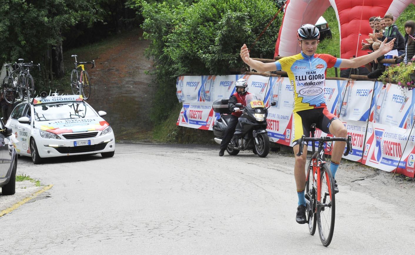 Karel Vacek vince la Cittadella-Colli Alti 2017