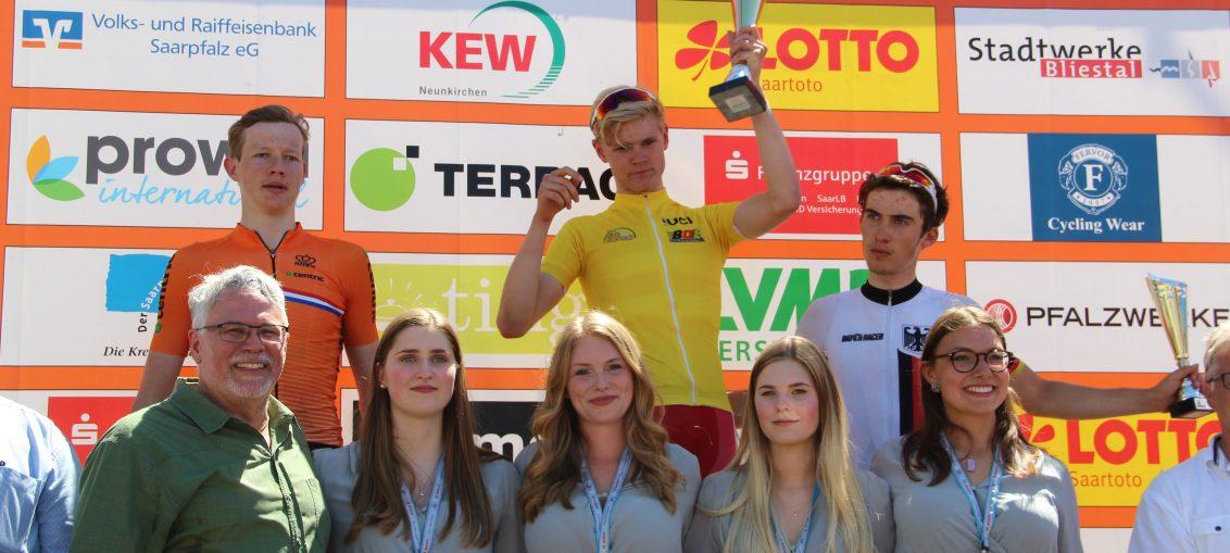 Il podio finale del Trofeo Karlsberg 2017