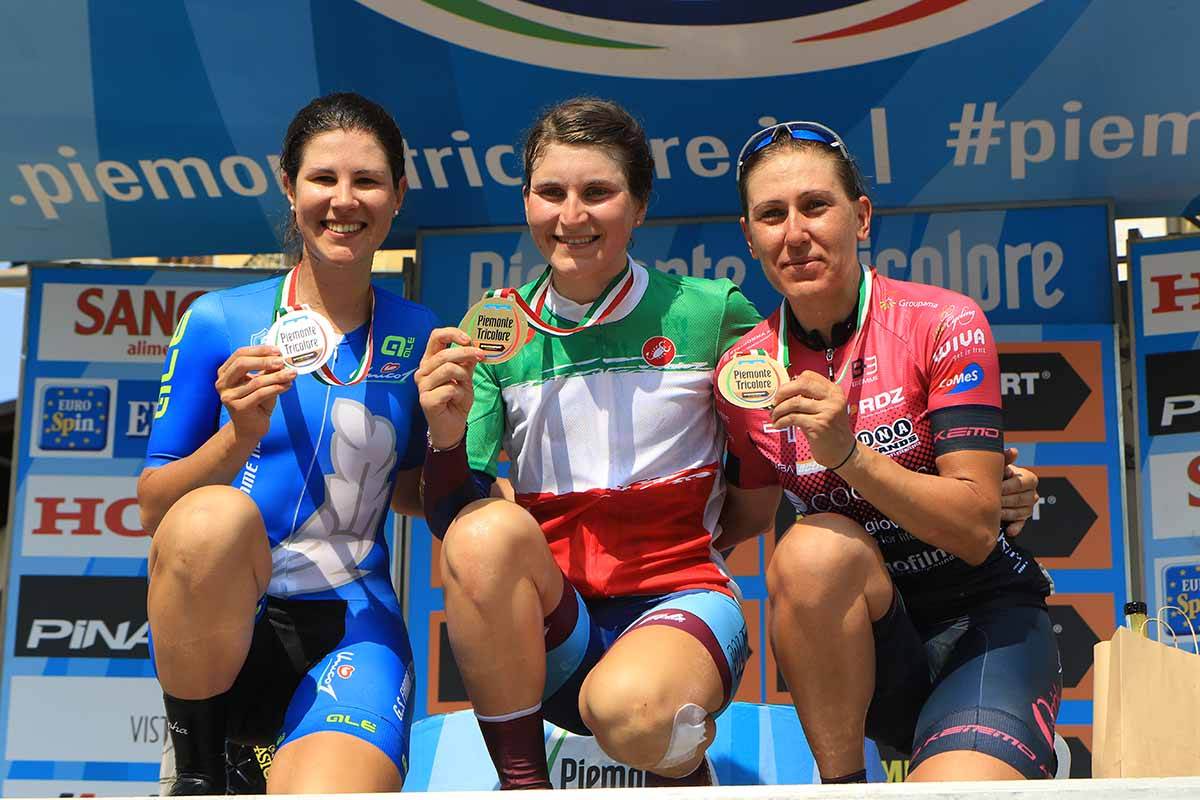 Elisa Longo Borghini si conferma campionessa italiana a cronometro Donne Elite