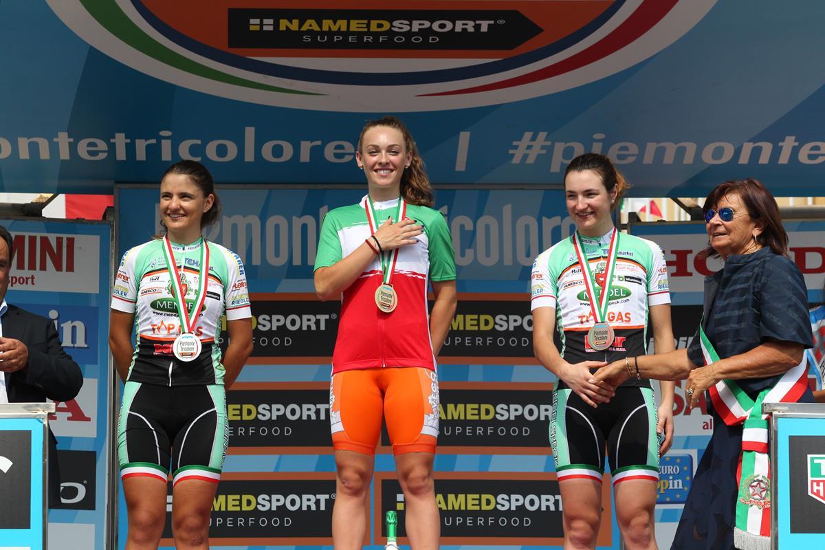 Letizia Paternoster vince il Campionato Italiano a cronometro Donne Junior 2017