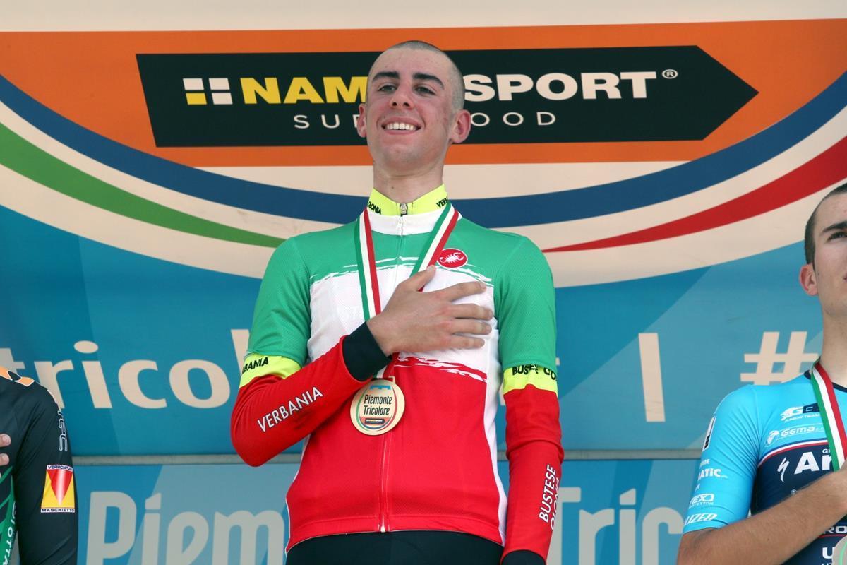 Antonio Puppio campione italiano a cronometro 2017