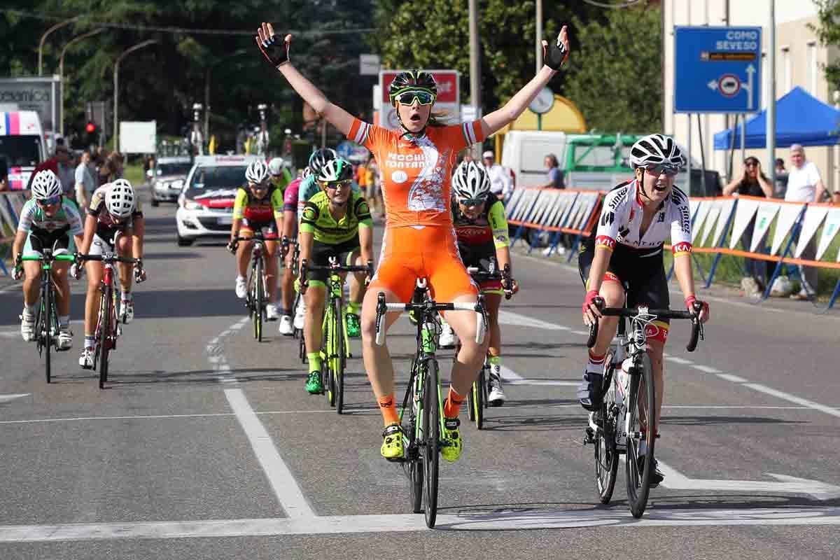 La vittoria della junior Vittoria Guazzini nella gara Open di Cesano Maderno
