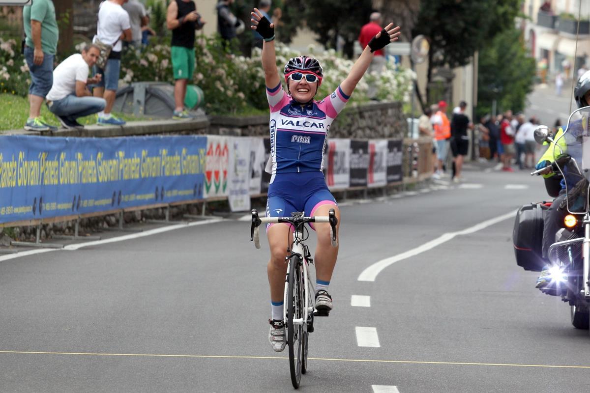La vittoria dell'esordiente Emma Redaelli a Bedizzole