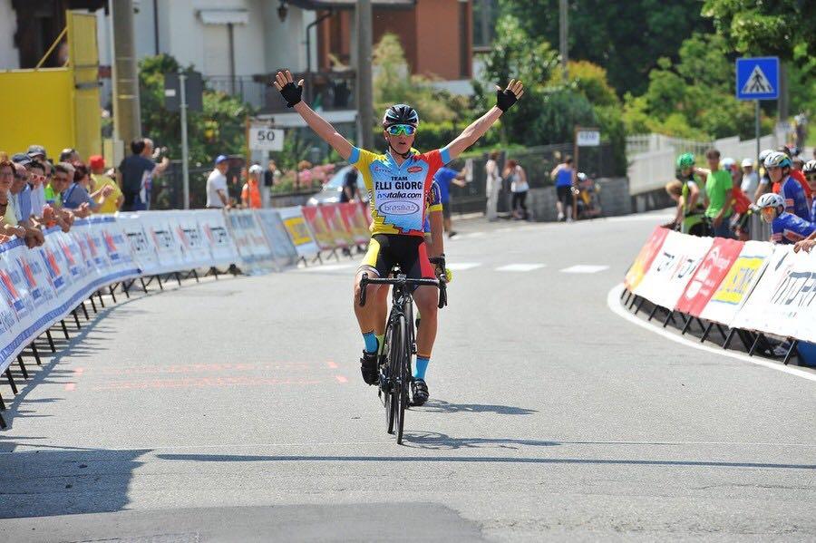 Alessio Martinelli vince a Valdengo