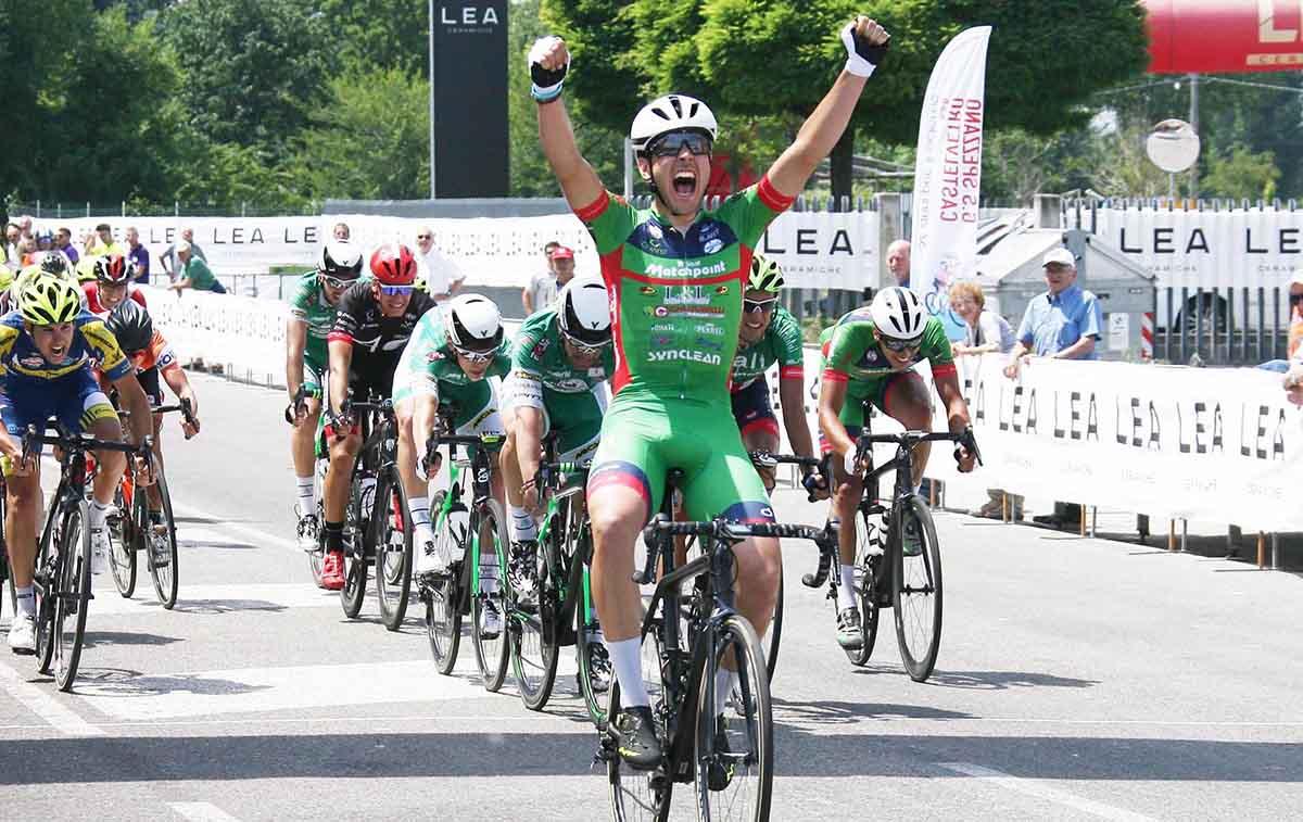 Matteo Moschetti vince la Pistoia-Fiorano 2017