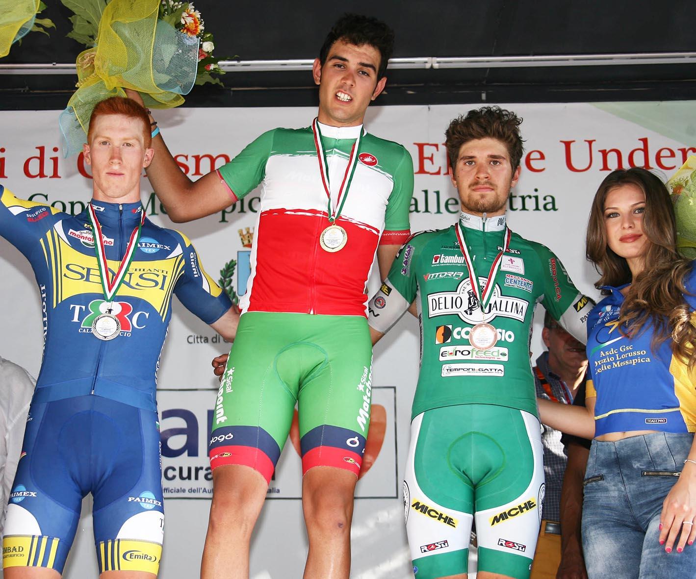 Matteo Moschetti campione italiano Under 23 2017 a Ceglie Messapica