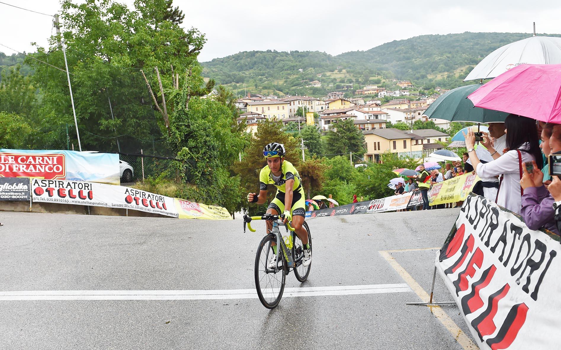 Samuele Rubino vince solitario a Brione