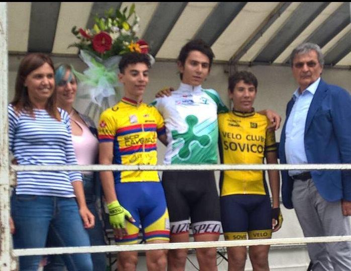 Il podio del Campionato Lombardo Esordienti 1° anno