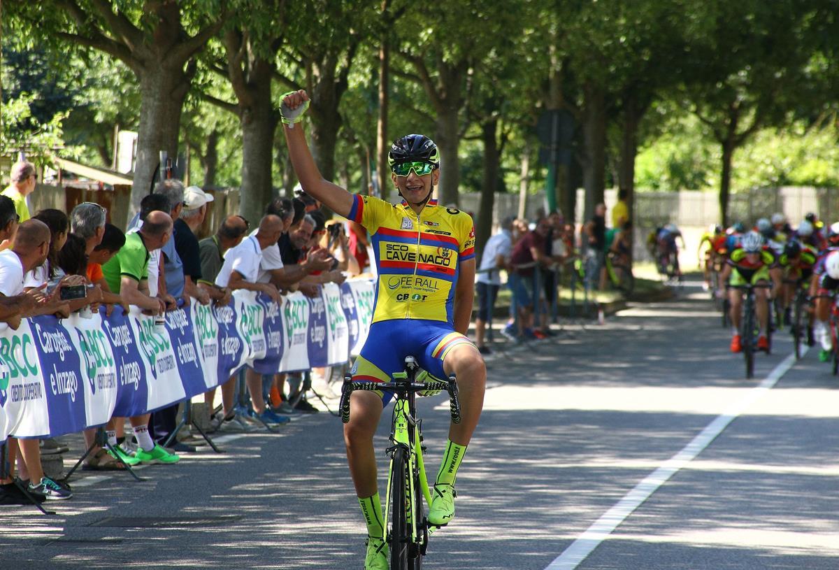 Andrea Piras vince ad Agrate Brianza