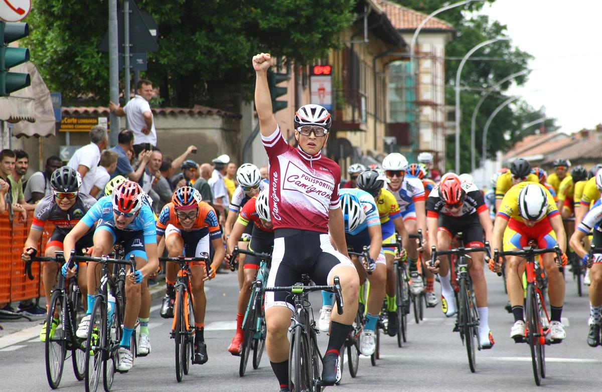 Loris Ferrari vince la gara Allievi di Gessate