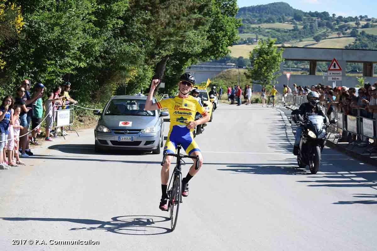 La vittoria di Gianmarco Garofoli a Mocaiana