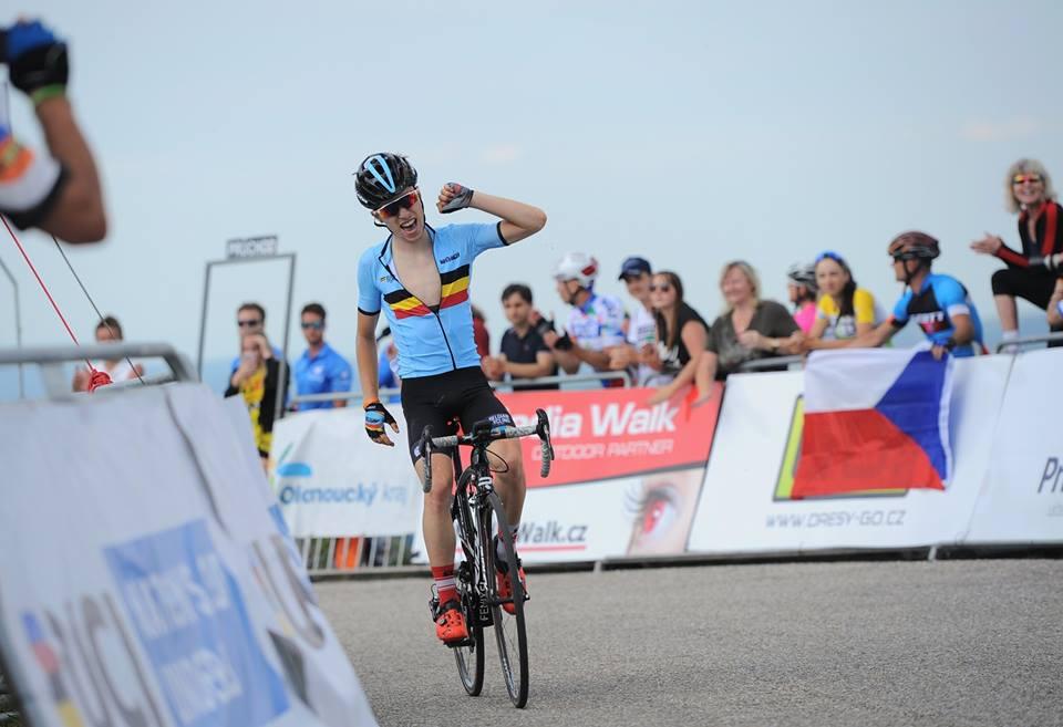 Bjorg Lambrecht vince la seconda tappa del Grand Prix Priessnitz spa - Course de la Paix U23 2017