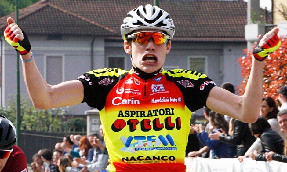 Gianluca Cordioli vince a Rubiera
