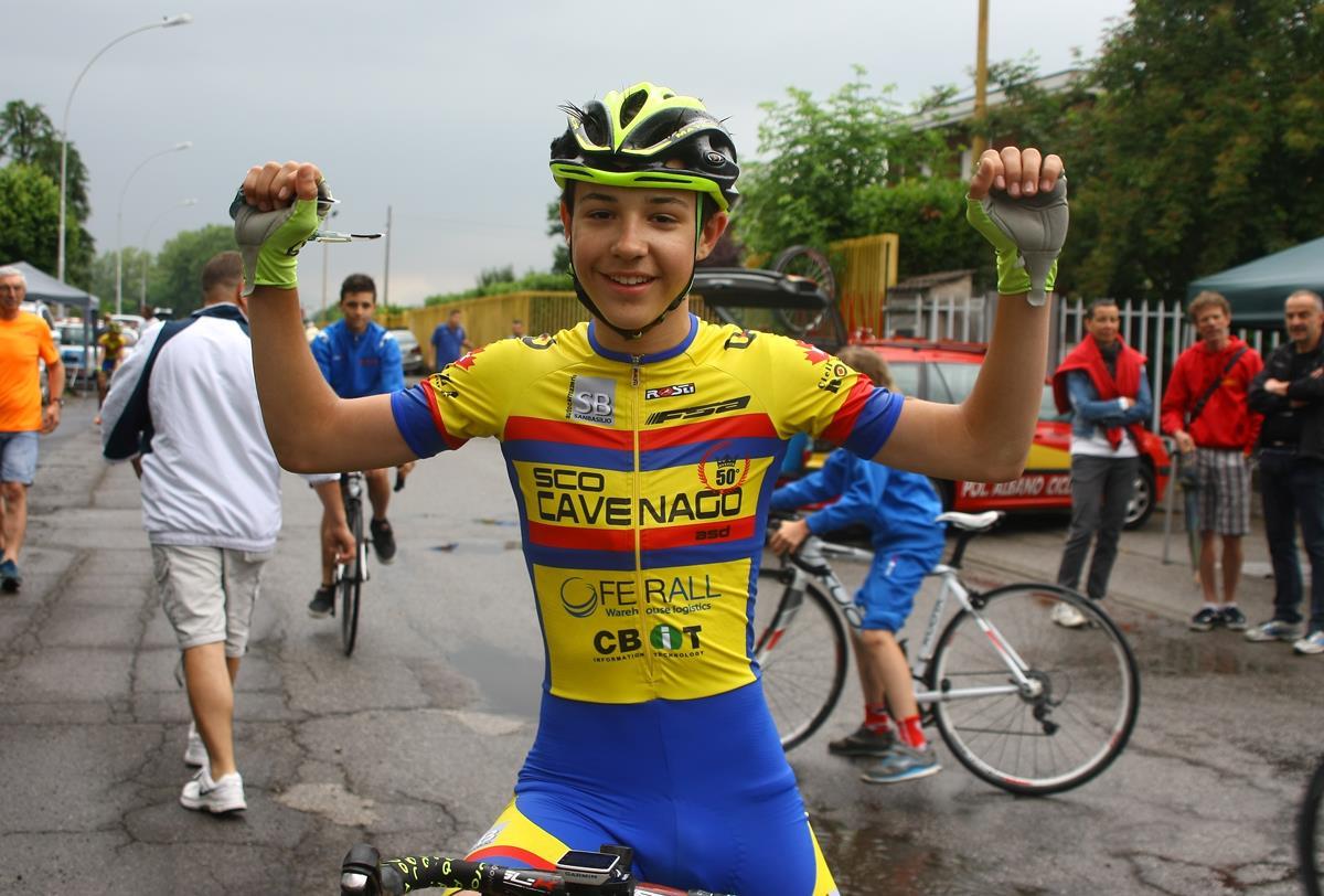 Seconda vittoria stagionale a Pessano per Daniele Anselmi