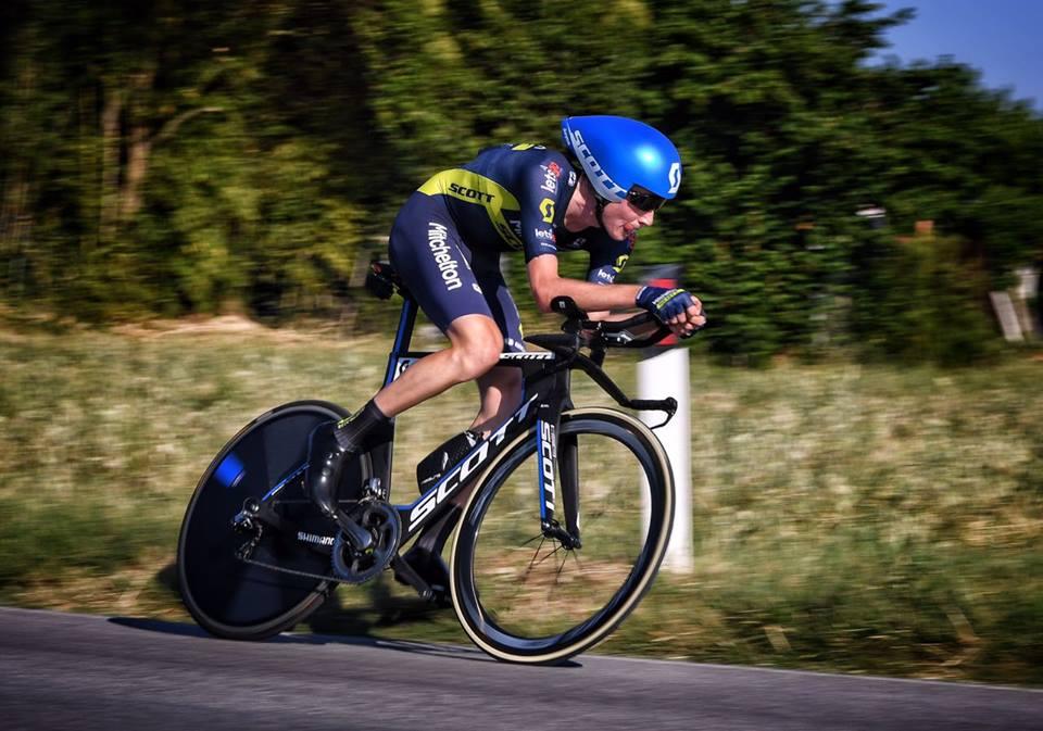 Lucas Hamilton vince la cronometro di Campocavallo al Giro d'Italia U23