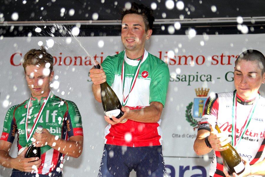 Gianluca Milani è campione italiano Elite s.c. a Ceglie Messapica