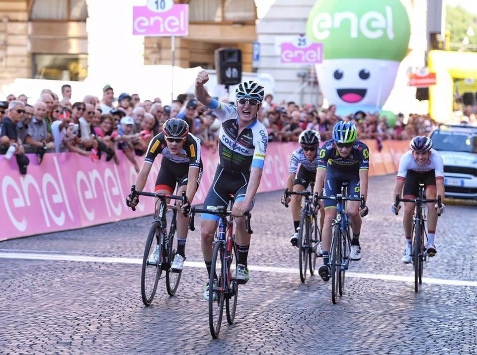 Mark Padun vince la terza tappa del Giro d'Italia Under 23 Enel