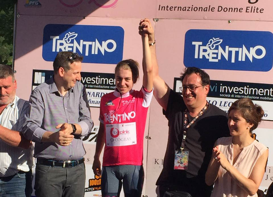 Nikola Noskova vince il Giro del Trentino femminile 2017