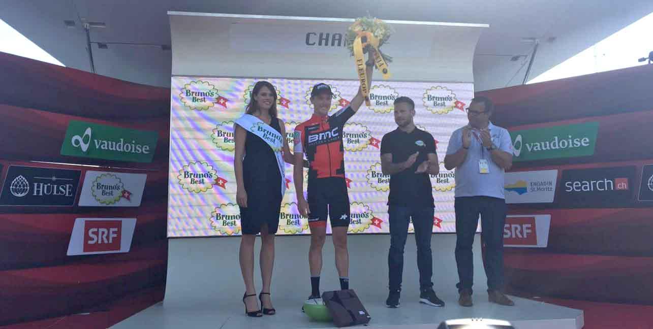 Rohan Dennis vincitore del prologo del Tour de Suisse 2017
