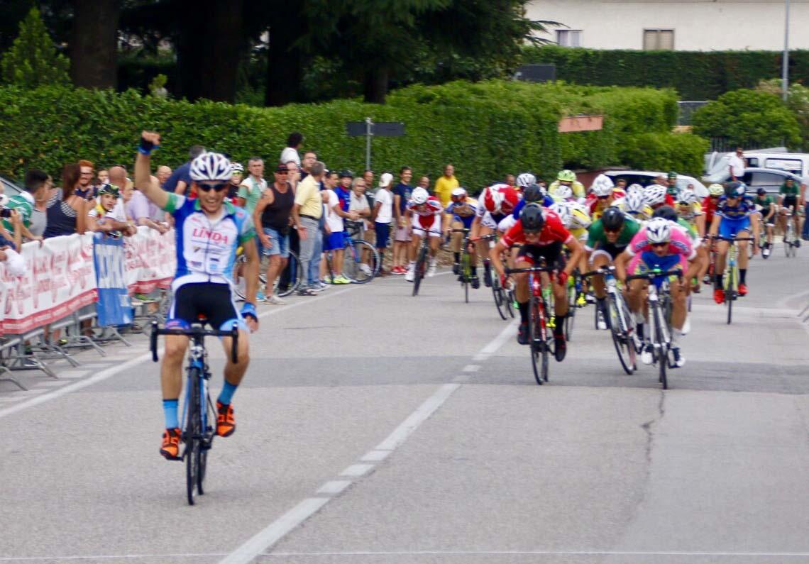 Gianluca Simioni vince il Campionato Veneto Allievi a Lugo di Grezzana