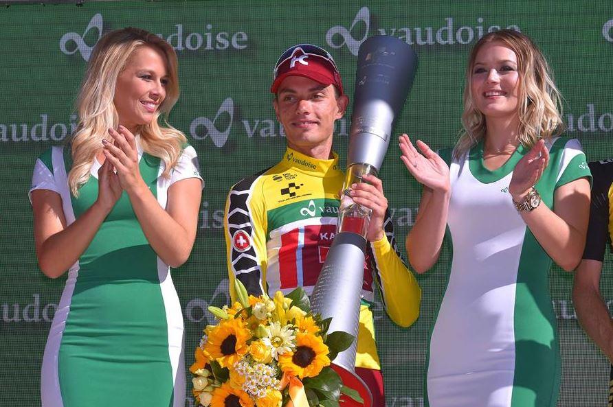Simone Spilak vincitore del Tour de Suisse 2017