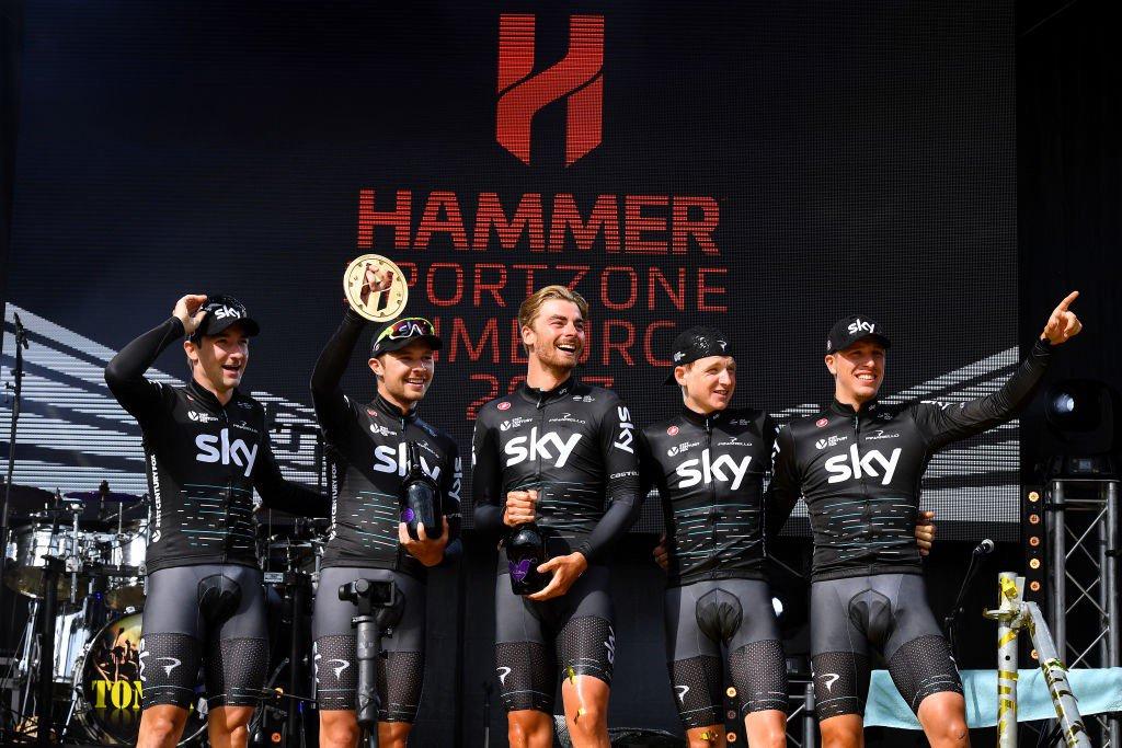 Il Team Sky ha vinto la prima edizione di Hammer Series