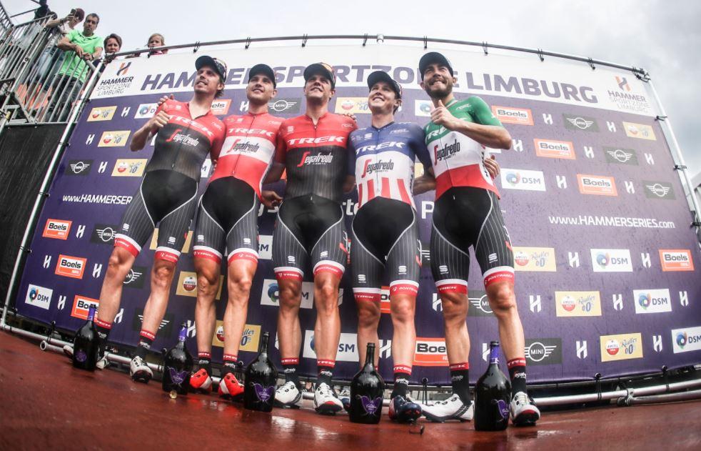 La Trek-Segafredo vince la Hammer Sprint 2017