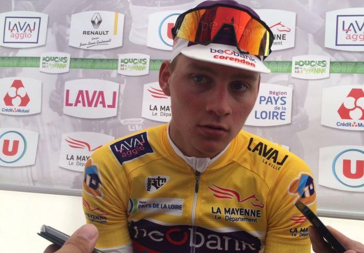 Mathieu Van der Poel vince la Boucles de la Mayenne 2017