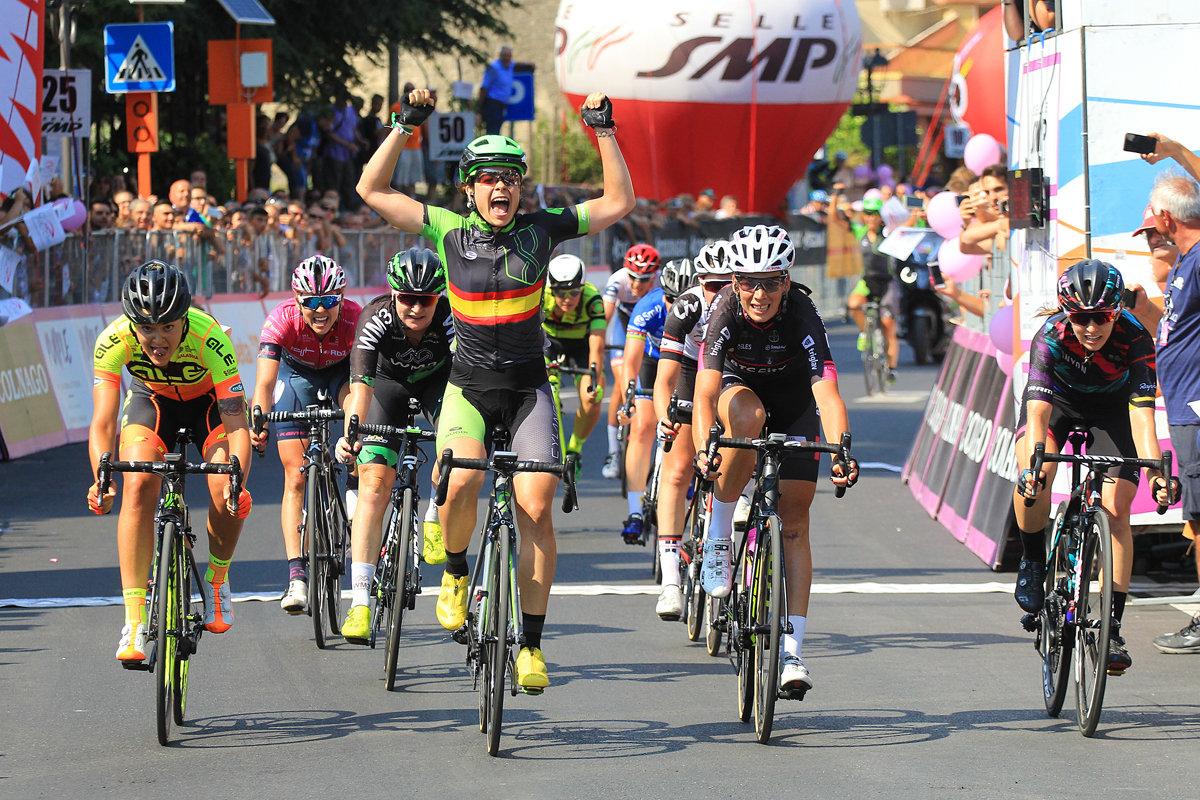 Sheyla Gutierrez vince la settima tappa del Giro Rosa 2017