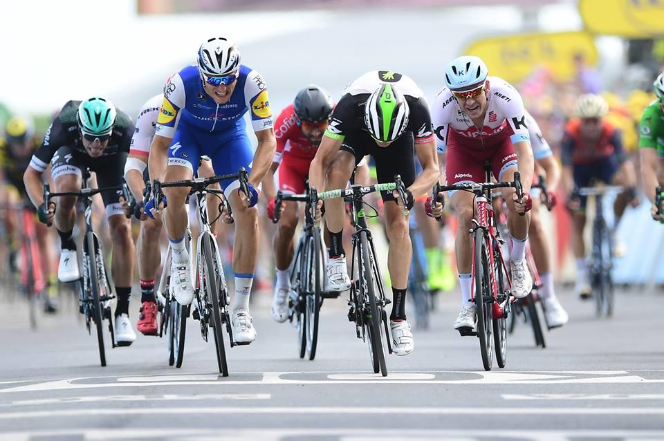 Marcel Kittel vince la settima tappa del Tour de France 2017